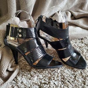 Michael Kors Buckle Heels Size 6.5